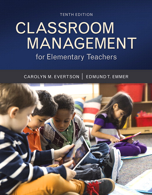 Evertson emmer classroom management for elementary teachers with book cover fandeluxe Gallery