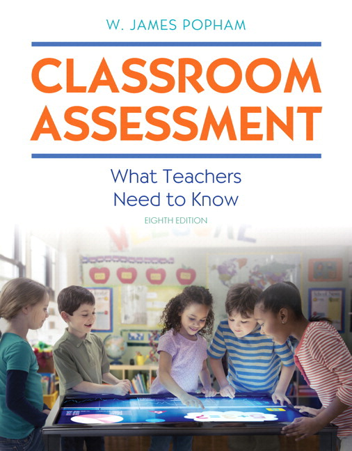 Modern Classroom Assessment Book ~ Popham powerpoint presentation download only
