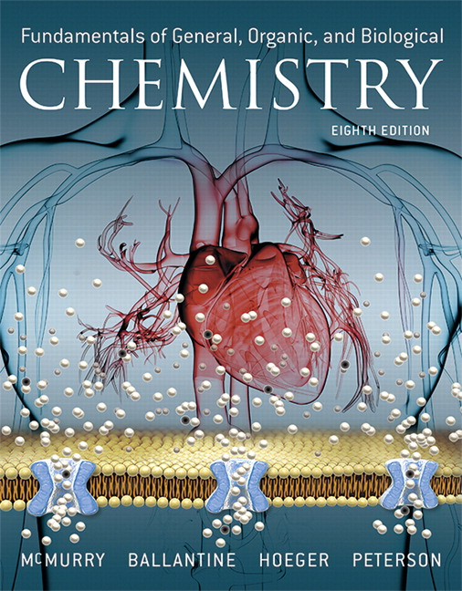 Fundamentals of General, Organic, and Biological Chemistry, 8th Edition