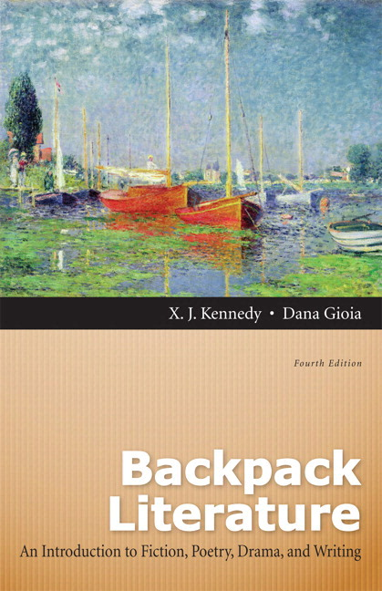 kennedy gioia backpack literature an introduction to fiction