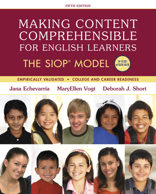 Echevarria vogt short making content comprehensible for english book cover fandeluxe Image collections