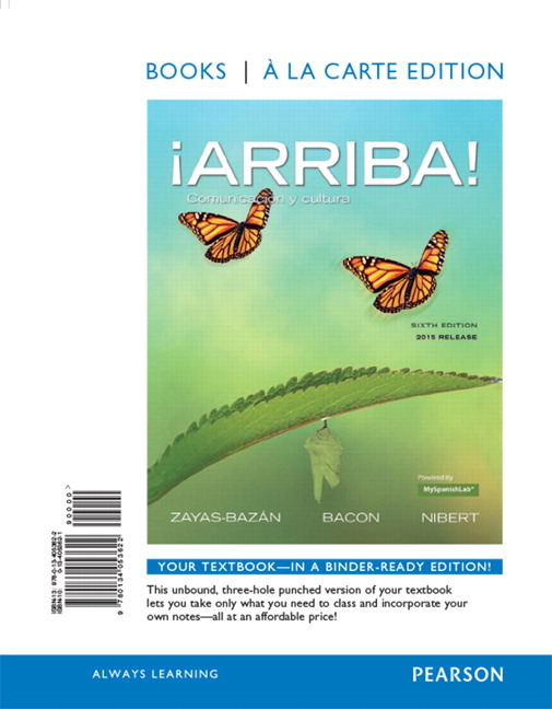 arriba 6th edition student activities manual answers
