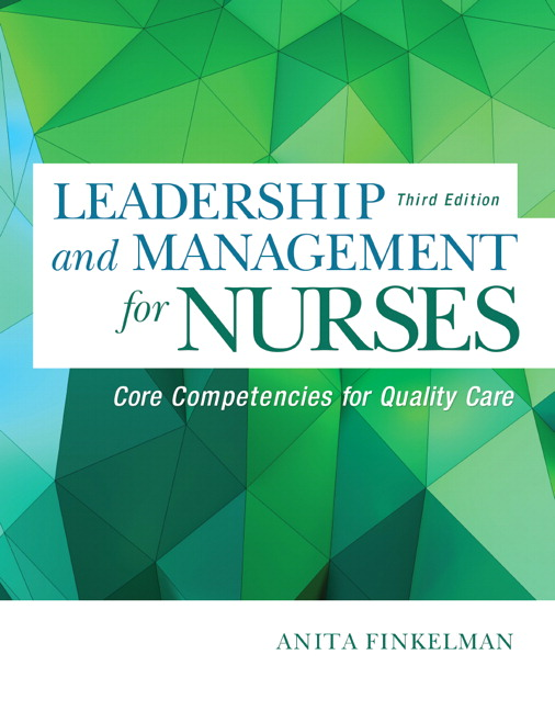 nursing leadership and management By earning a master of science in nursing degree (msn) with a concentration in  leadership and management, you'll build on your direct care and team.