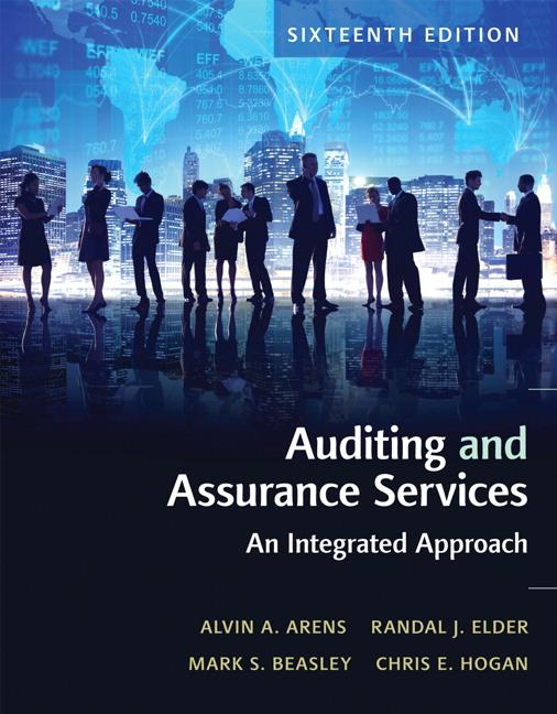 Arens, Elder, Beasley & Hogan, Auditing and Assurance