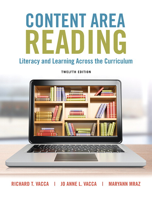 Vacca vacca mraz content area reading literacy and learning content area reading literacy and learning across the curriculum enhanced pearson etext with loose leaf version access card package 12th edition fandeluxe Images