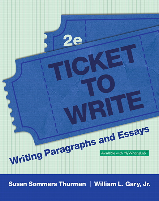 developmental writing paragraph essay ticket to write writing paragraphs and essays 2nd edition