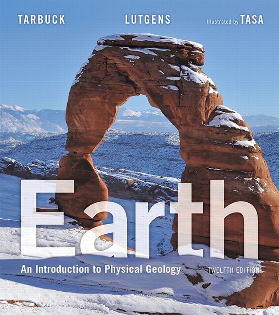earth an introduction to physical geology 12th edition