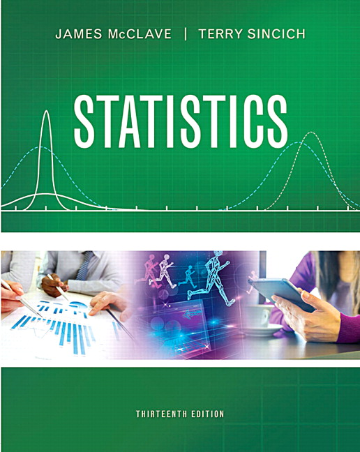 Mcclave sincich statistics pearson statistics subscription 13th edition fandeluxe Image collections