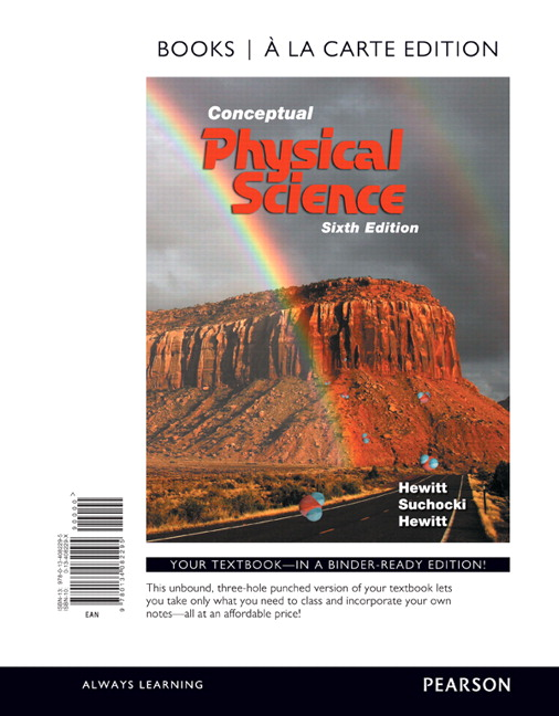 Hewitt suchocki hewitt conceptual physical science 6th edition conceptual physical science books a la carte edition 6th edition fandeluxe Image collections