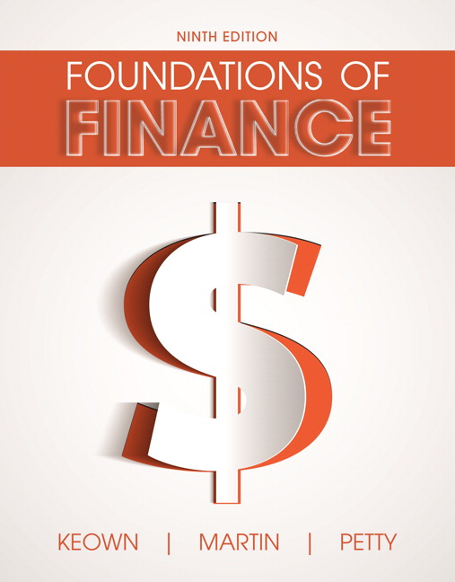 Keown martin petty foundations of finance pearson foundations of finance subscription 9th edition fandeluxe Image collections