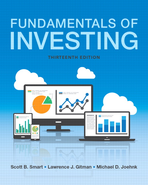 Smart Gitman Joehnk Fundamentals Of Investing Pearson
