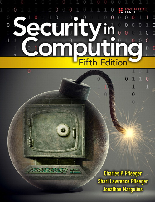 Pfleeger Pfleeger Margulies Security In Computing 5th Edition Pearson