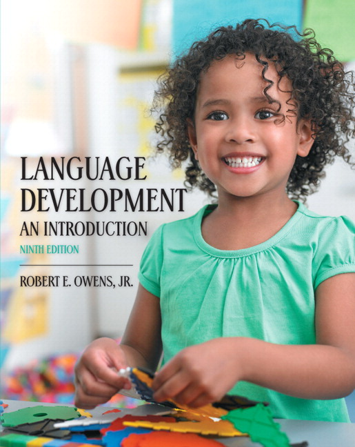 Owens language development an introduction 9th edition pearson language development an introduction 9th edition fandeluxe Choice Image