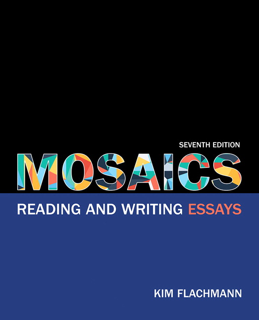flachmann mosaics reading and writing essays th edition mosaics reading and writing essays th edition