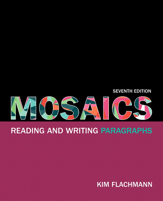 developmental writing paragraph essay mosaics reading and writing paragraphs 7th edition