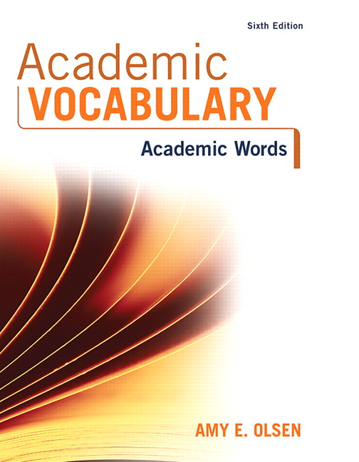 Olsen academic vocabulary academic words pearson academic vocabulary academic words 6th edition fandeluxe Image collections