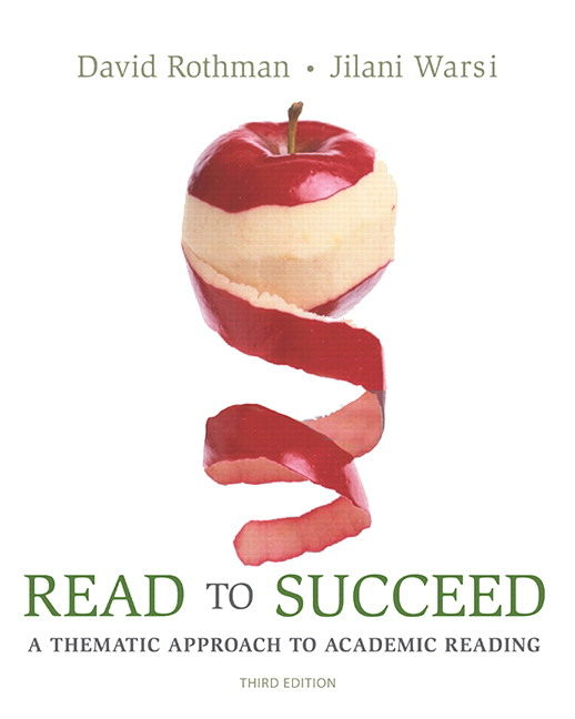 Rothman warsi rothmanread to succeed3 3rd edition pearson read to succeed a thematic approach to academic reading plus mylab reading with pearson etext access card package 3rd edition fandeluxe Choice Image