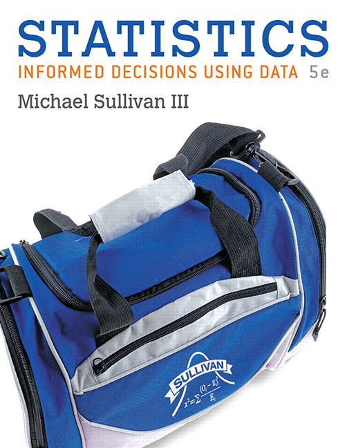 Statistics: Informed Decisions Using Data, 5th Edition