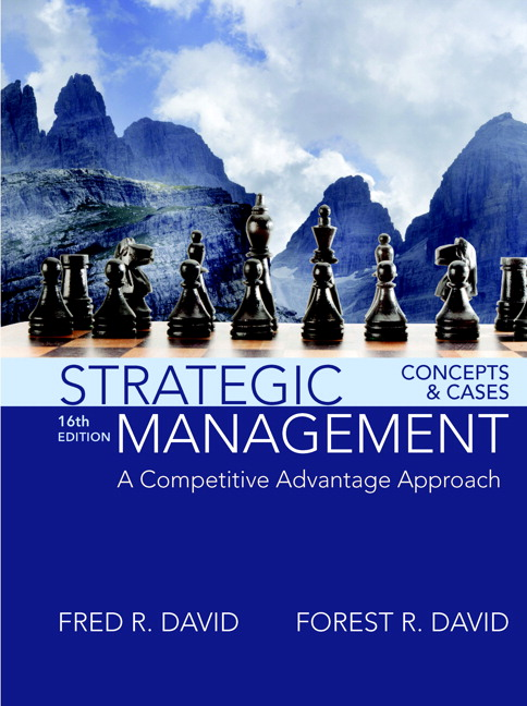 Strategic Management: A Competitive Advantage Approach, Concepts and Cases (Subscription)