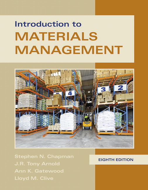 Chapman arnold gatewood clive introduction to materials introduction to materials management 8th edition fandeluxe Gallery