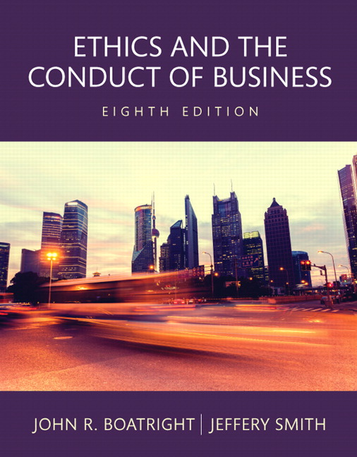 Boatright smith revel for ethics and the conduct of business revel for ethics and the conduct of business access card 8th edition fandeluxe Choice Image