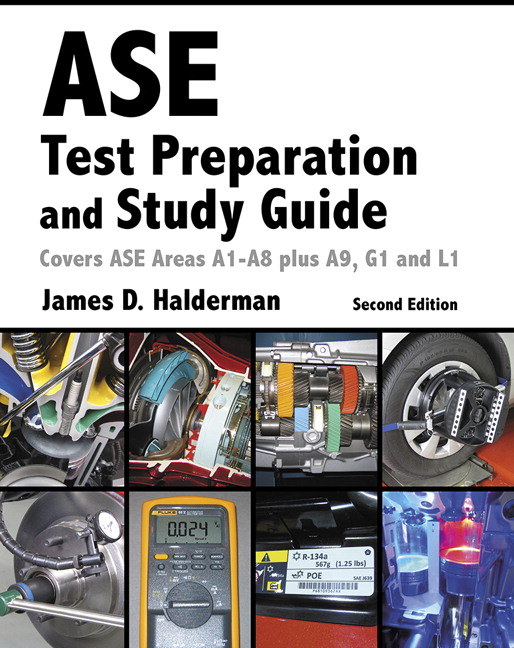 Halderman Ase Test Prep And Study Guide 2nd Edition Pearson