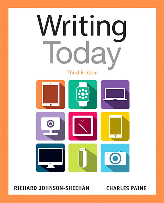 Johnson sheehan paine writing today pearson writing today subscription 3rd edition fandeluxe Image collections
