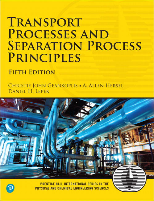 Instructor's Manual for Transport Processes and Separation Process Principles