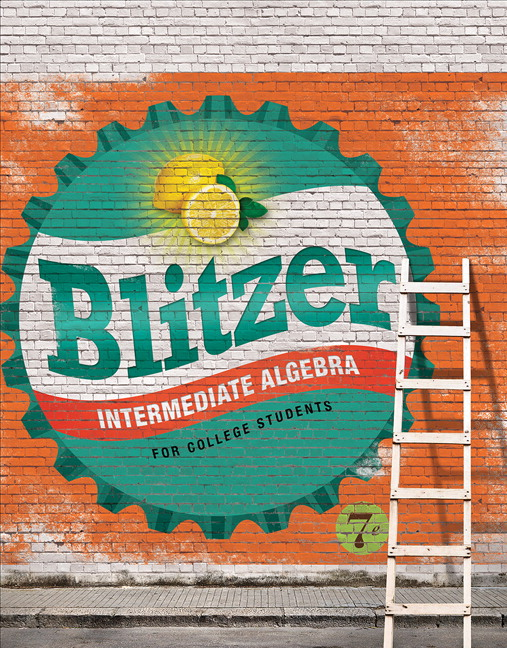 Blitzer intermediate algebra for college students 7th edition intermediate algebra for college students 7th edition fandeluxe Gallery
