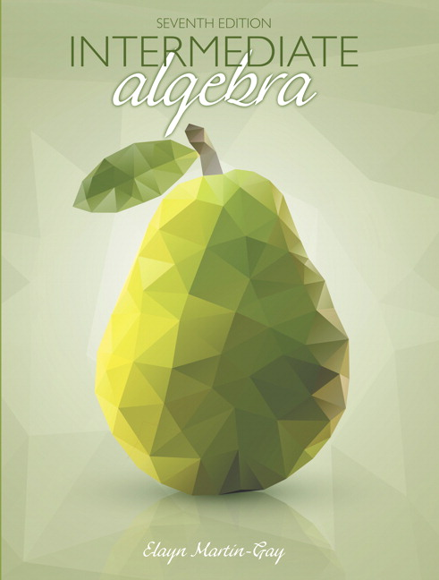 Intermediate Algebra, Books a la Carte Edition, 7th Edition