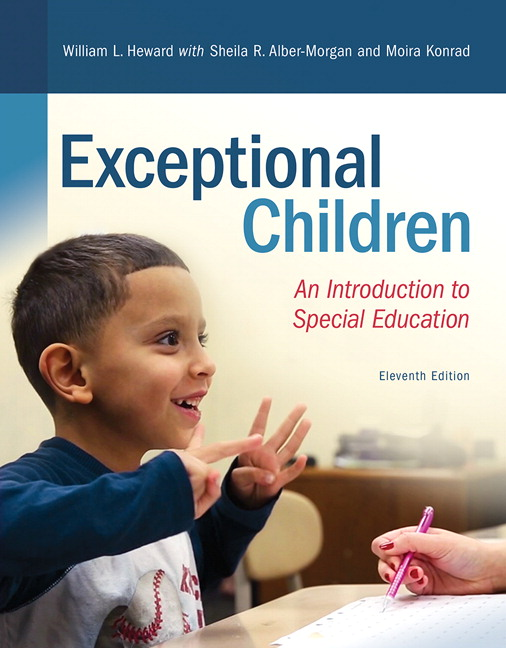 Heward Alber Morgan Konrad Exceptional Children An Introduction To Special Education 11th Edition Pearson
