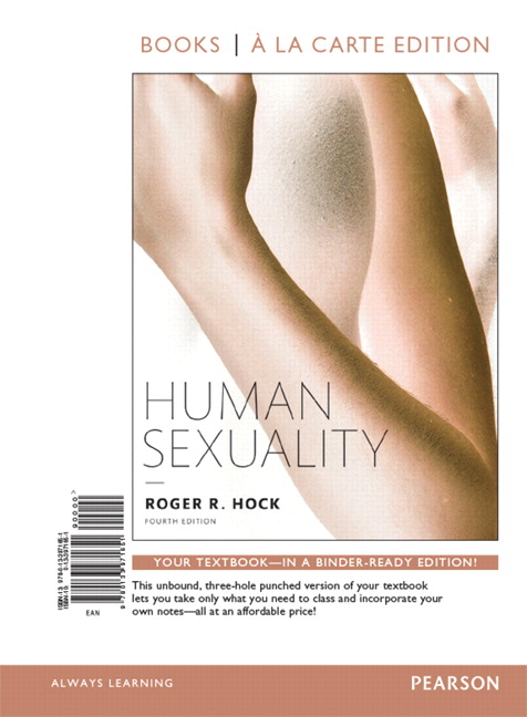 Human sexuality textbook hock
