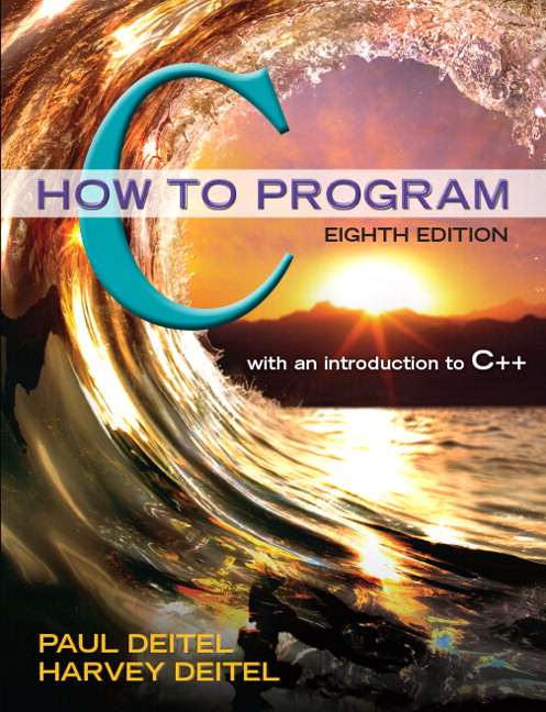 deitel deitel how to program c pdf