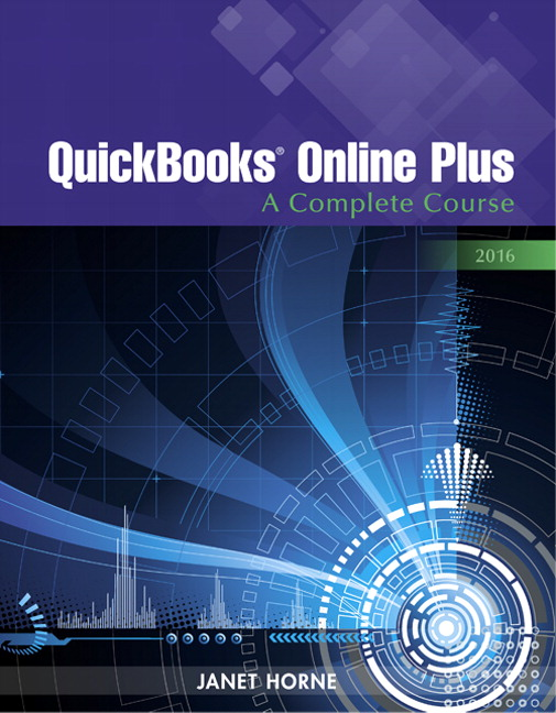 QuickBooks Online Plus: A Complete Course 2016