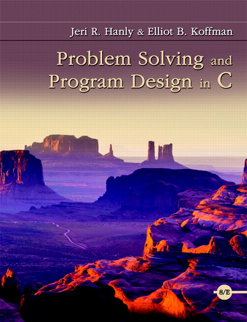 Problem Solving and Program Design in C, 8th Edition