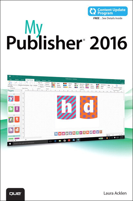acklen my publisher 2016 includes free content update program