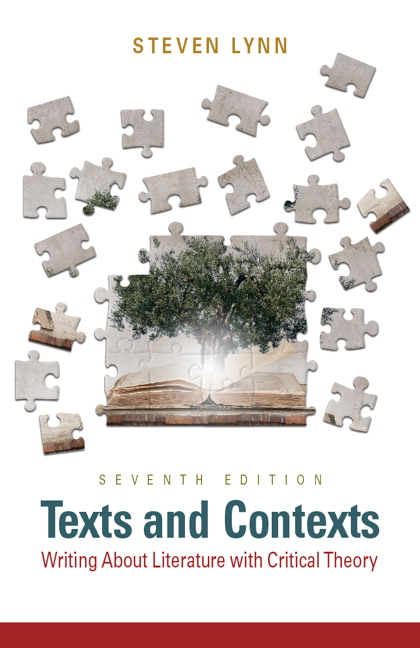 Lynn texts and contexts writing about literature with critical texts and contexts writing about literature with critical theory 7th edition fandeluxe