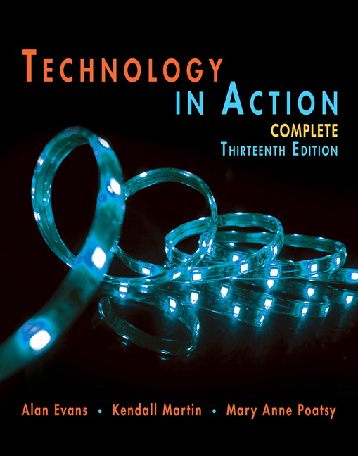 Technology in action 12th edition chegg homework