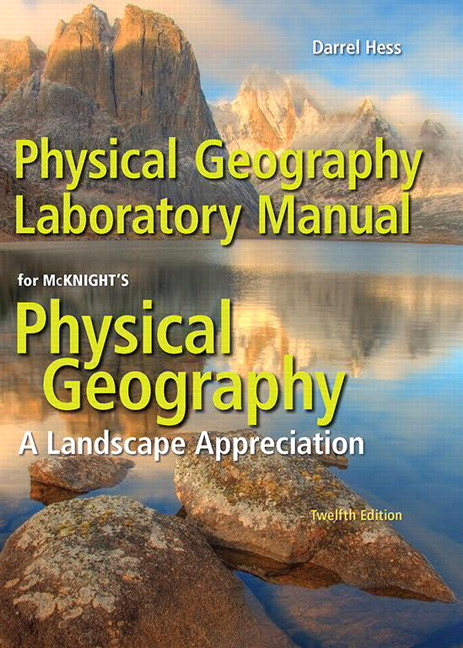 Hess Physical Geography Laboratory Manual 12th Edition