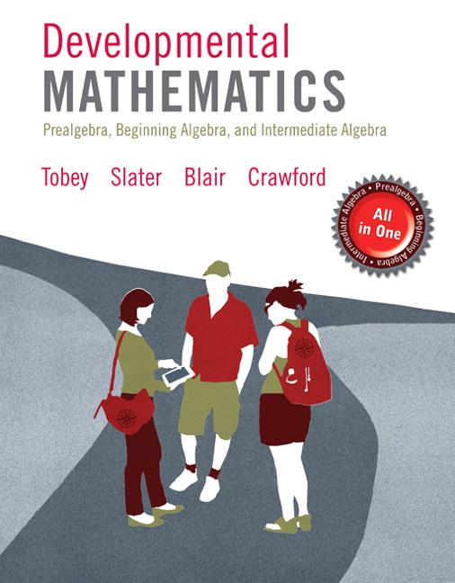 Tobey, Slater, Blair & Crawford, Developmental Mathematics