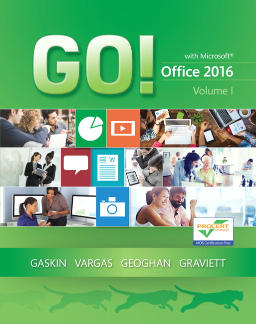 Go For Office 2016 Series Pearson border=