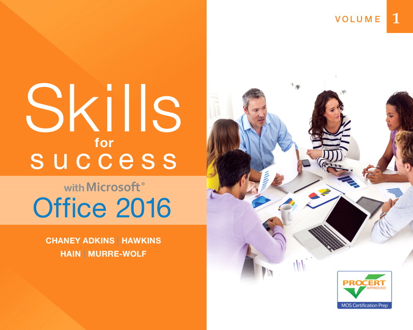 Skills For Success For Office 2016 Series Pearson