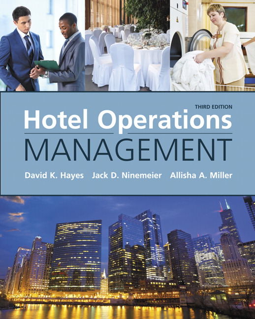 Hotel Operations Management, 3rd Edition