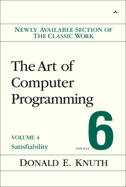 The Art of Computer Programming Volume 4 Fascicle 6