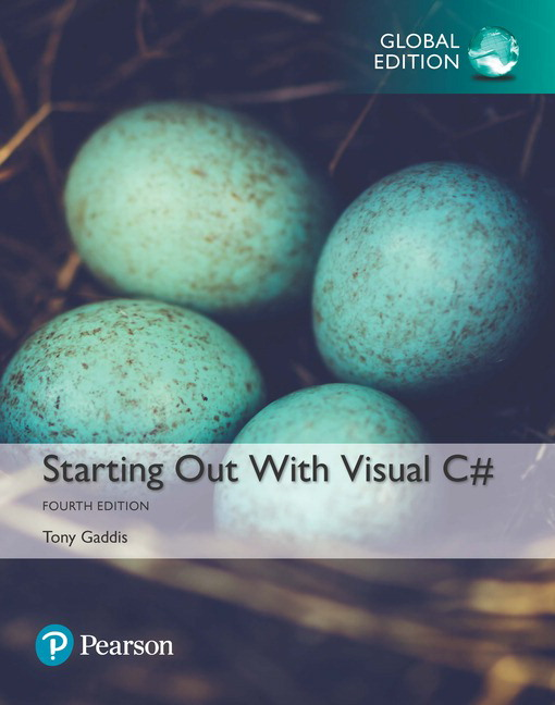 Gaddis starting out with visual c 4th edition pearson starting out with visual c subscription 4th edition fandeluxe Image collections
