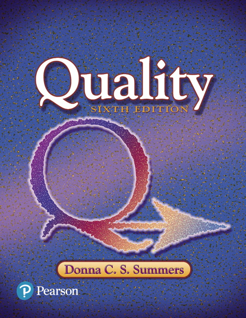 Summers, Quality, 6th Edition | Pearson