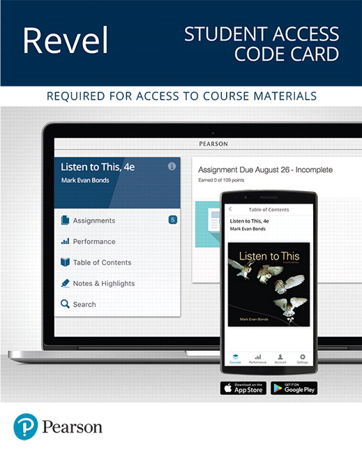 Bonds revel for listen to this access card 4th edition pearson revel for listen to this access card 4th edition fandeluxe