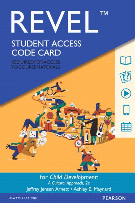 Revel for Child Development: A Cultural Approach -- Access Card