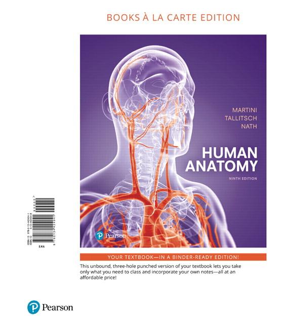 Martini, Tallitsch & Nath, Human Anatomy, Books a la Carte Edition ...