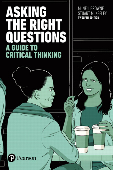 asking the right questions a guide to critical thinking 12th edition
